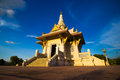 Shrine of the yala city pillar thailand Stock Photo