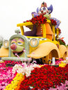 Shriners Hospitals 2011 Rose Bowl Parade Float Royalty Free Stock Photos