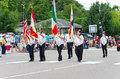Shriners March in Mendota Parade