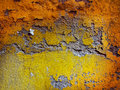 Shriveled wall close up in different colors Royalty Free Stock Image