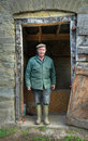 Shropshire Farmer Stock Photos