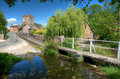 Shropshire Village, England Royalty Free Stock Photo