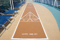 Shuffleboard Royalty Free Stock Photo