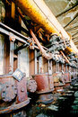 Shutdown old coking plant Royalty Free Stock Photos