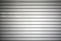 Shutter detail of roll up closed door of a store Royalty Free Stock Photo