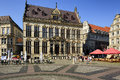 Shutting ( Guildhall), Bremen, Germany Royalty Free Stock Photo