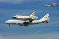 Shuttle Endeavour ends its flying days Royalty Free Stock Photo