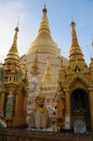 In shwedagon complex yangon city Royalty Free Stock Images