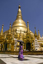 Shwedagon pagoda, Myanmar April 2012 Stock Photography