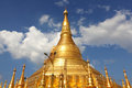 Shwedagon Pagoda in Yangoon, Myanmar Stock Image