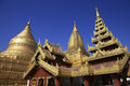 Shwedagon pagoda at yangoon myanmar Royalty Free Stock Image