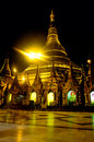 Shwedagon Paya, Yangoon, Myanmar. Royalty Free Stock Image