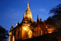 Shwegugyi paya in bagan myanmar Royalty Free Stock Photography