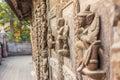 Shwenandaw Kyaung Temple or Golden Palace Monastery in Mandalay, Myanmar Royalty Free Stock Photo
