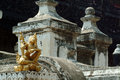 Shwenandaw monastery or golden palace in mandalay city middle of myanmar Stock Image
