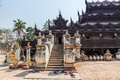Shwenandaw Monastery - Mandalay Royalty Free Stock Photos