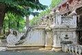 Shwenandaw Monastery, Mandalay, Myanmar Royalty Free Stock Photo