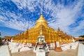 Shwezigon Pagoda,Bagan, Myanmar Royalty Free Stock Photo