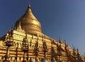 Shwezigon Pagoda Royalty Free Stock Photo