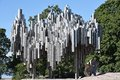 Sibelius monument in Helsinki, Finland Royalty Free Stock Photo
