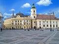 Sibiu plaza Royalty Free Stock Photo