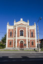 Sibiu synagogue in hermannstadt the european capital of culture in Royalty Free Stock Photos
