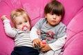 Siblings Royalty Free Stock Photo