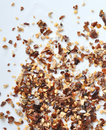 Sichuan spice blend on white Stock Image