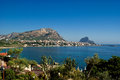 Sicilia s view beautiful of the northern coast of sicily Stock Photography
