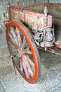 Sicilian cart brightly painted sicily Royalty Free Stock Image