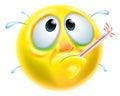 Sick Ill Emoticon Emoji