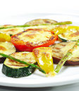 Side Dishes - Grilled Vegetables Stock Photos
