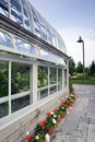 Side of Greenhouse Stock Photos