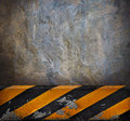Side road cement wall background use multipurpose Royalty Free Stock Image