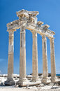 Side Temple of Apollo 04 Royalty Free Stock Photos