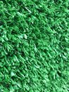 Side view of artificial green turf background Royalty Free Stock Photo