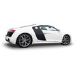 Side view of Audi R8 sports car Royalty Free Stock Photo