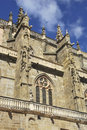 Side view of the cathedral of astorga leã n castile and leon spain Stock Photography