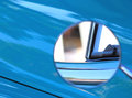 Side View Mirror On Classic Car Stock Photos