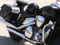 Side View Motocycle Royalty Free Stock Photo