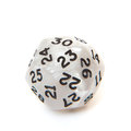 Sided dice all on white background Stock Photography