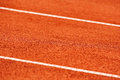 Sidelines detail on a tennis court Royalty Free Stock Photo