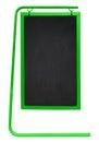 Sidewalk Chalkboard isolated - green