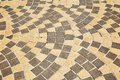 Sidewalk tile pattern Royalty Free Stock Photo