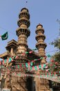 The shaking minarets Royalty Free Stock Photo