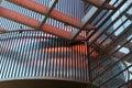 . siding. metal plates. double-glazed windows. Royalty Free Stock Photo