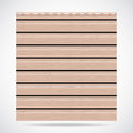 Siding texture big panel beige color Stock Photo