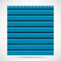 Siding texture big panel cyan color Stock Images