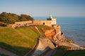 Sidmouth in Devon, UK.