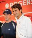 Sidney Crosby & Federer at Rogers Cup 2010 (13a) Stock Photography